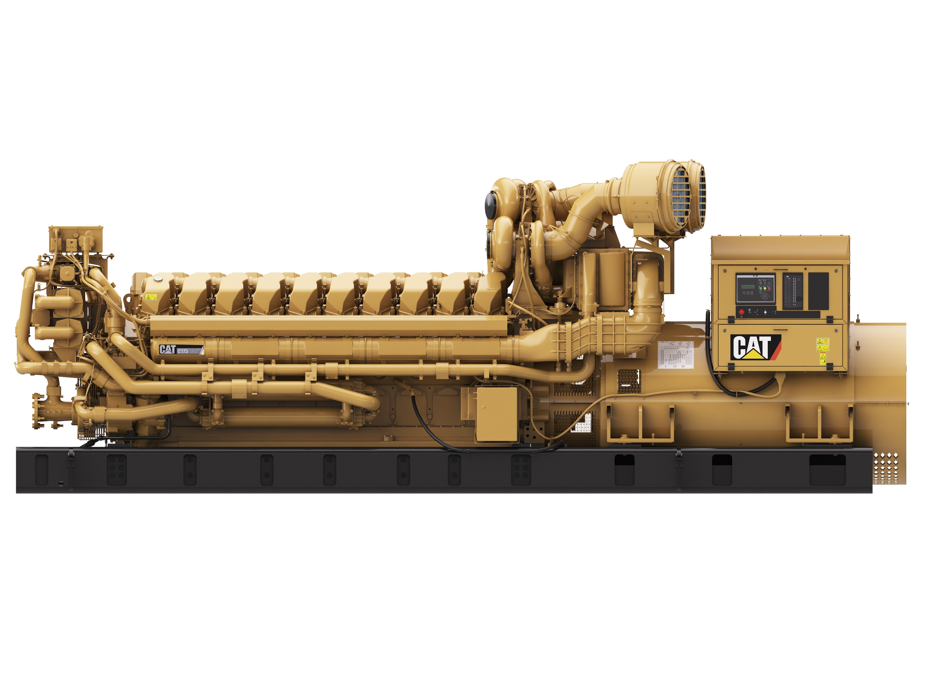 Caterpillar C175 20 generator set Electrical connection
