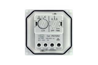 HPM Programmable light sensitive switch_PE170R2 Controls