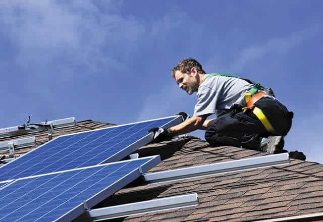 Solar feed-in