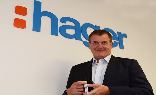 Ross MaGee Managing Director Hager Electro 1