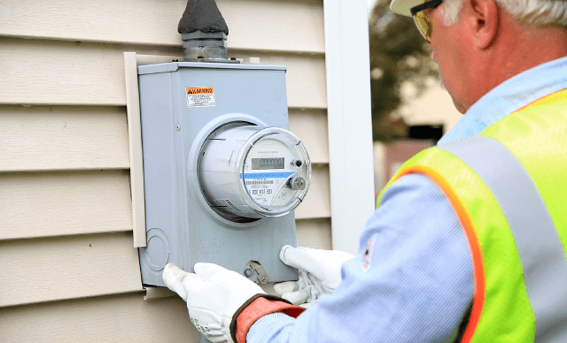 meter installed