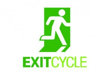 Recycling exit signage