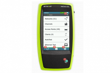 NETSCOUT launches handheld wireless network tester