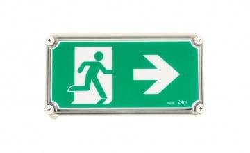 IMAGE 2. Weatherproof Exit Sign