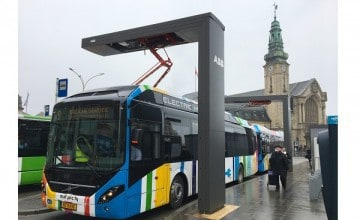 ABB wins multiple orders for electric bus charging stations