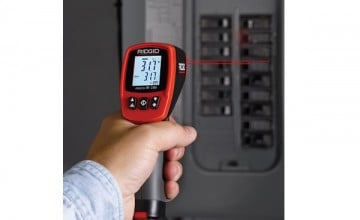 Ridge Tool Australia announces RIDGID micro IR-200 infrared thermometer