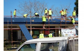 Tradies come together for the Salvos
