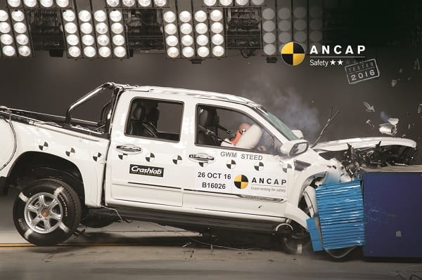 Great Wall Steed ANCAP crash test 1