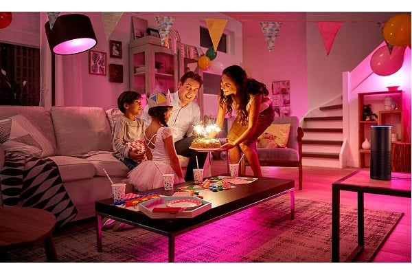 philips lighting announces launch of amazon alexa skill for philips hue connected lighting. Black Bedroom Furniture Sets. Home Design Ideas