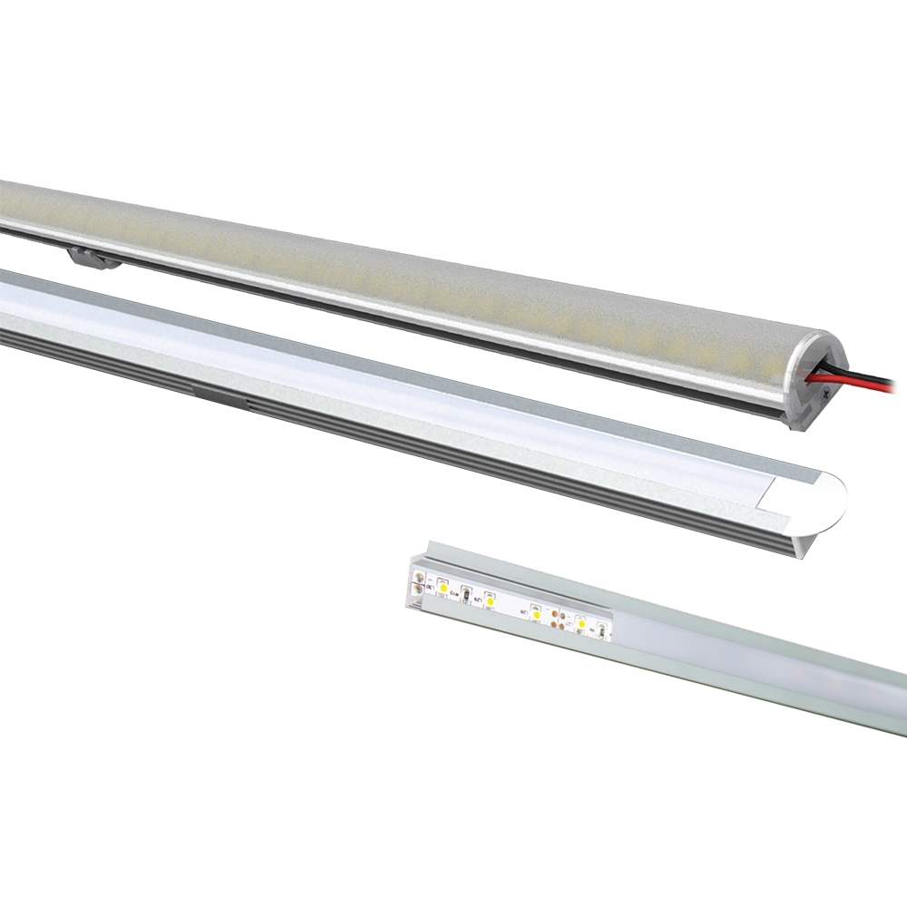 Vibe led customisable strip enclosure electrical connection this led strip enclosure is compatible with most led strip lights and has been designed to make straight linear lighting easier aloadofball Choice Image