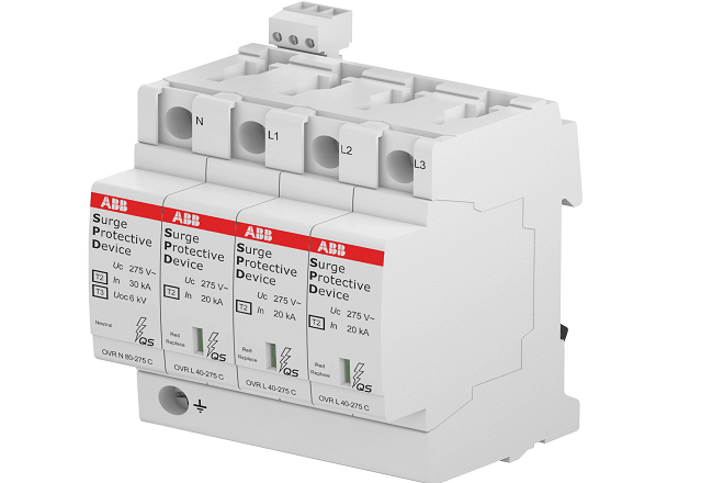 ABB brings out ultra safe surge protection device - Electrical ...