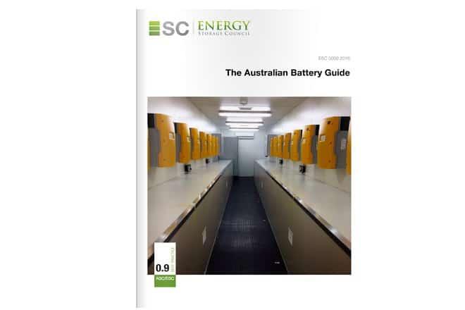battery guide