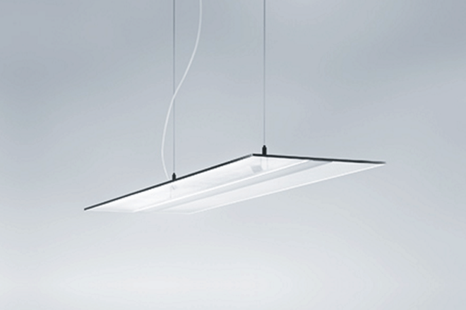 Zumtobel launches the vaero led pendant luminaire electrical zumtobel has released the vaero led pendant luminaire which incorporates itself unobtrusively into the architecture of modern office environments aloadofball Gallery