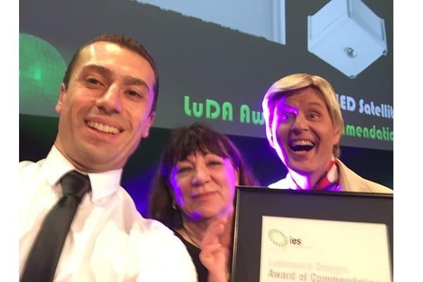 Legrand's Super LED Satellite takes home a Commendation Award