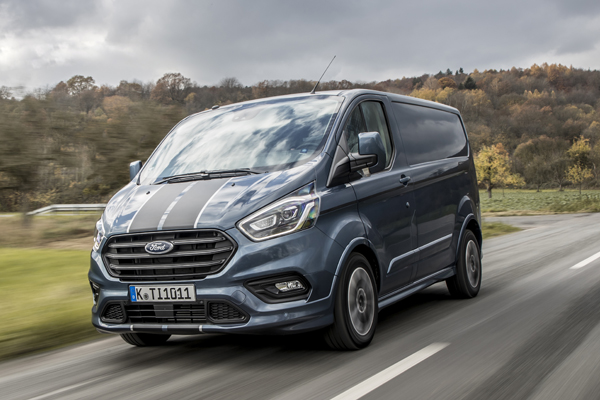 Ford Announced Range Of Transit Custom Vans Electrical Connection