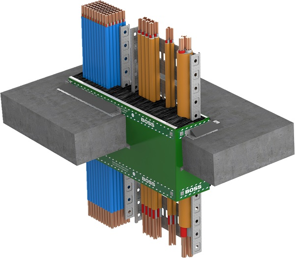 Fireproofing in the electrical industry: BOSS Fire Transit Box - Electrical
